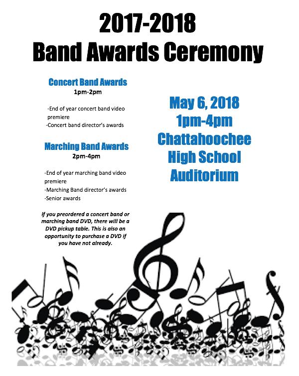 band awards flyer insta