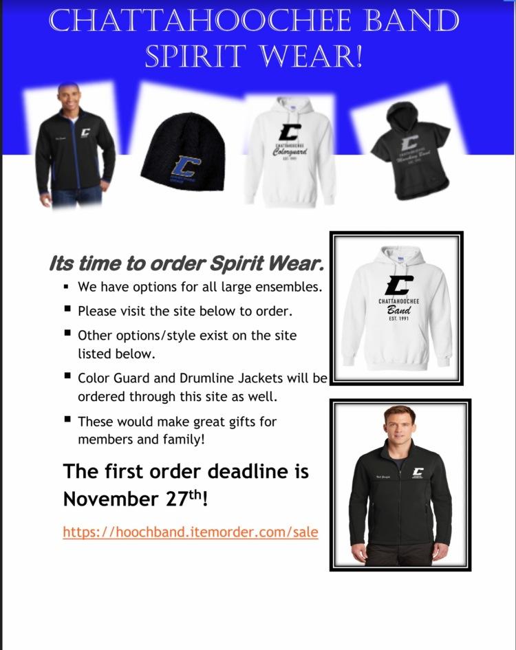 Spiritwear Flyer